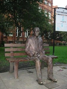 Alan Turing - Sackville Park-Manchester