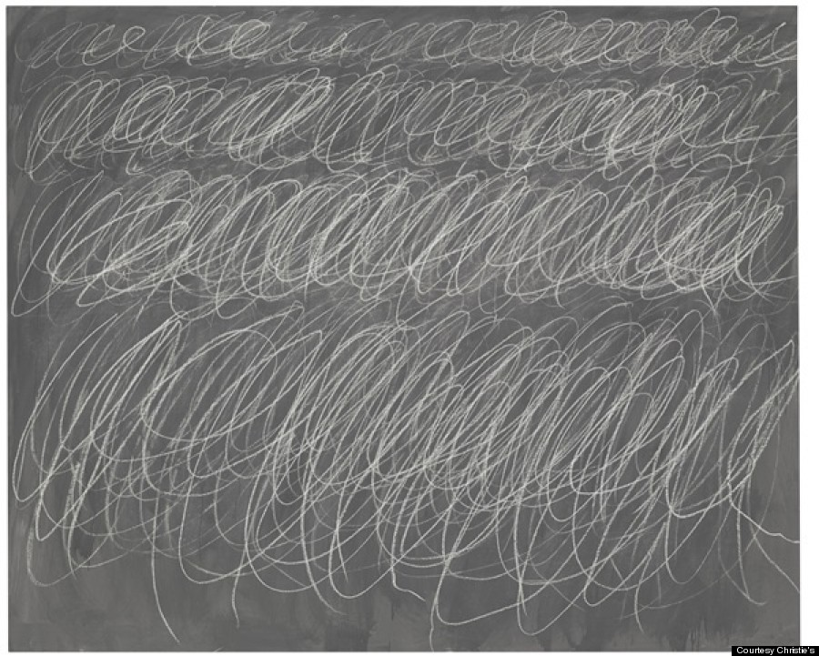TWOMBLY-BLACKBOARD-UNTITLED