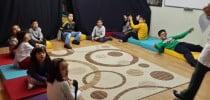 Çocuk Yaratıcı Drama Dersinden Görüntüler
