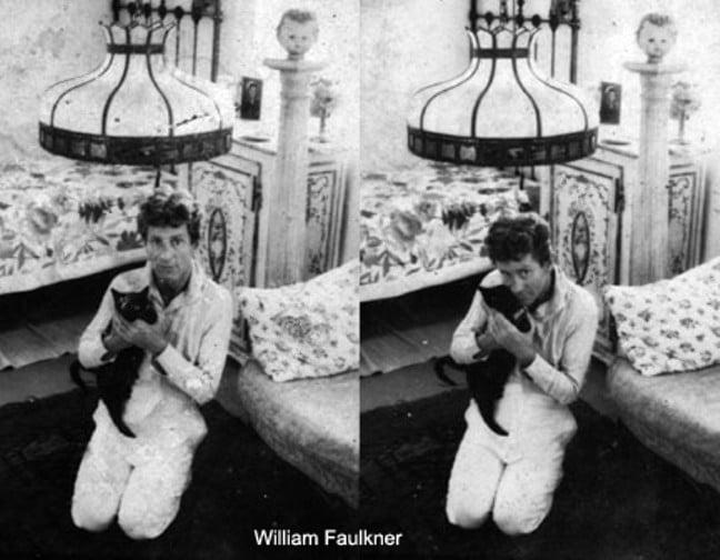 8 William Faulkner