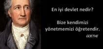 """Aforizma sırası bugün """" Johann Wolfgang von Goethe"""" 'de."""