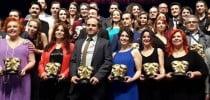 Yapı Kredi Afife Tiyatro Ödülleri, Haliç Kongre Merkezi'nde düzenlenen törenle sahiplerini buldu.