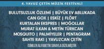 """""""Yavuzfest"""", yarın 12.00'de UNIQ Açıkhava Sahnesi'nde"""